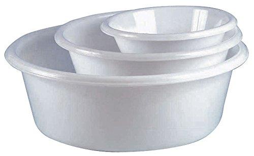 Cuisineonly Bacinella da cucina leggera, in varie dimensioni: 24 x 6 cm, capacità 1 L Cucina: utensili (utensili in plastica)