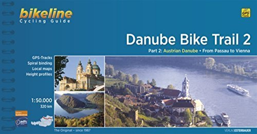 Danube Bike Trail 2 Passau to Vienna by Bikeline 2014-10-31 ...