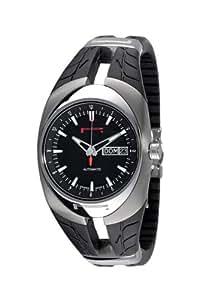 Pirelli R7921100215 - Reloj de caballero automático, correa de goma color negro