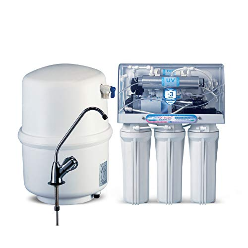 KENT Excell+ 7-litres Under the counter RO + UV/UF+TDS Controller (White) 15-Ltr/hr Water Purifier