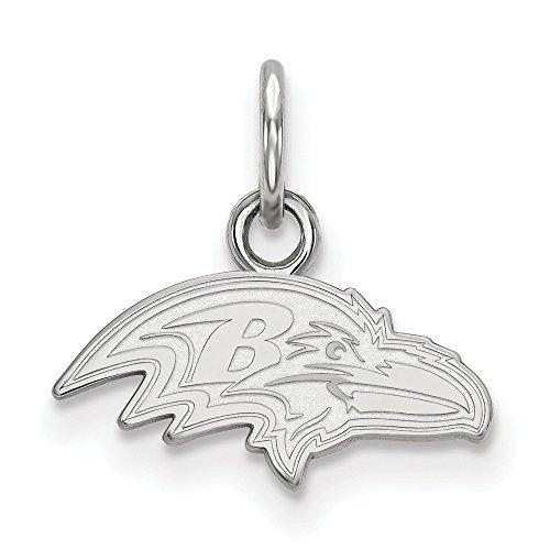(NFL Sterling Silver Baltimore Ravens XS Pendant)