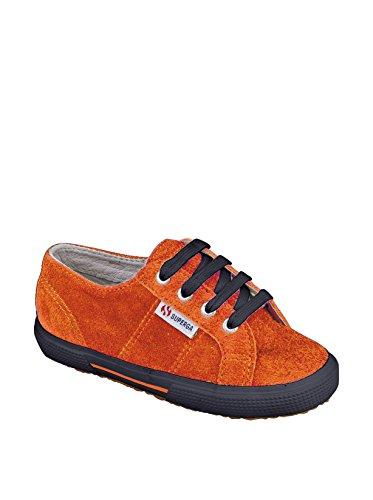 Superga S003UK0 - Zapatillas de deporte para niños Dk Orange