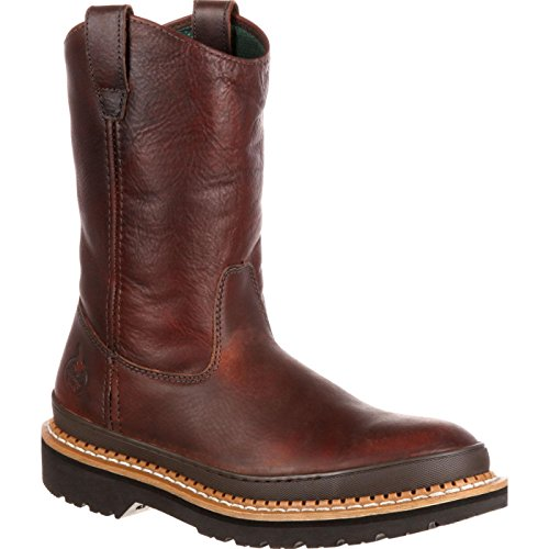 Georgia Giant Steel Toe Pull-On Work Boots
