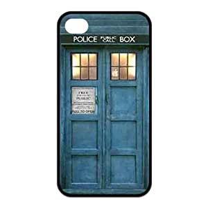 Treasure Design INSPIRED TARDIS Doctor Who APPLE iPhone 5 5s Best Silicone Cover Case