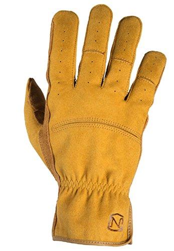Noble Outfitters Working Mens Dakota Work Glove Horseback Tough Heavy Duty Gloves Tan (Medium)