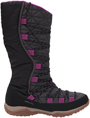 Columbia Damen Loveland Omni-Heat Schwarz (Shark/Bright Plum 011)