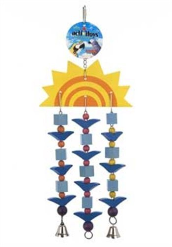 (JW Pet Company Activitoys Sun Toy Triple Bird Toy, Large)
