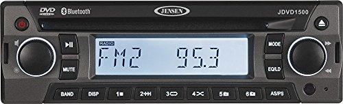 Jensen JDVD1500 Single DIN Bluetooth Electronic product image
