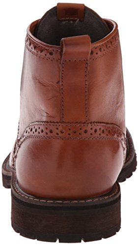 Florsheim Mens Brannon Wingtip Boot Saddle Tan Burnished GmtCd