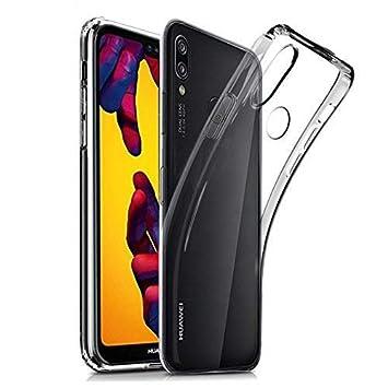 cookaR Funda Huawei P20 Lite Transparente, Funda Protectora Transparente Ultra Delgada de Silicona para la Carcasa del Huawei P20 Lite. Funda de ...