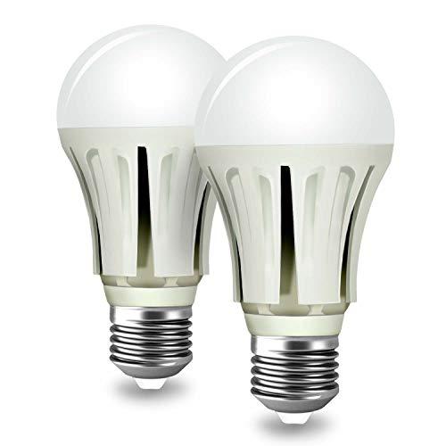Cheap ProPOW Dusk to Dawn Light Bulb,Light Sensor Bulb A19 9W Soft White LED Light Bulbs with Auto on Off, Smart Indoor Outdoor Lighting Lamp for YardPorchPatioGarageGarden(E26 2700K 2-Pack)