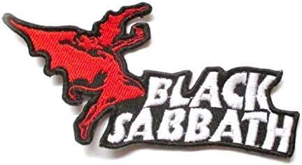 Patch Groupe Black Sabbath 10.5x5cm ecusson Groupe Hard Rock hotrodspirit