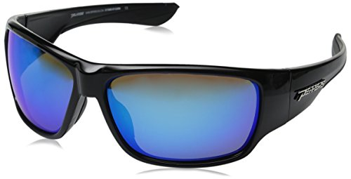Peppers Mens Overturn LP5701-1 Polarized Wrap Sunglasses ...