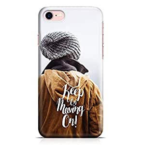 Loud Universe iPhone 8 Case Keep On Moving On For Friends Low Profile Light Weight Wrap Around iPhone 8 Cover