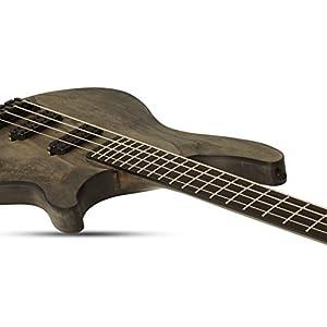 Schecter 4-saitige Bassgitarre, rostgrau (1317)