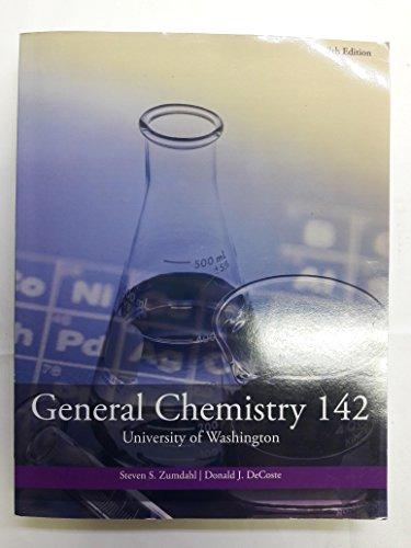 General Chemistry 142 (7e12) (General Chemistry 142)