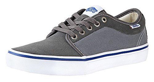 Vans Chukka Low Pro Mens Size 8.5 Womens 10 GunMetal Monument Grey Skateboarding (Vans Mens Skateboarding Shoes)