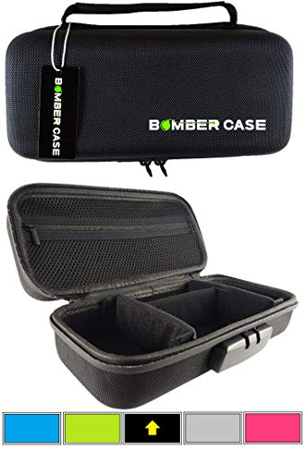BOMBER CASE - Stash Case - Locking - Smell Proof - Customizable Padded Interior - Fits up to 9.5