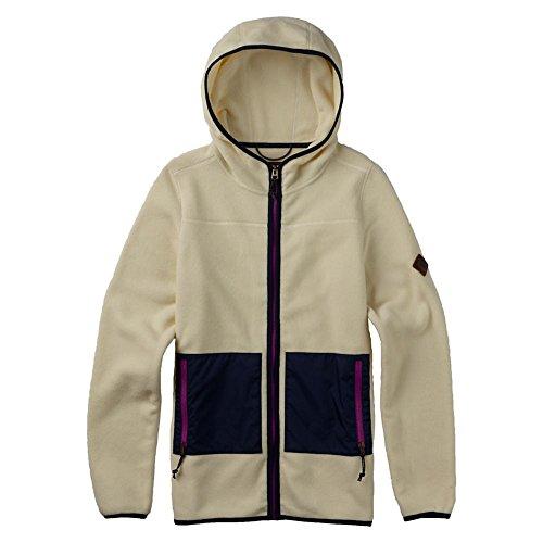 (Burton Women's Anouk Full-Zip Fleece, Canvas Heather, Large)