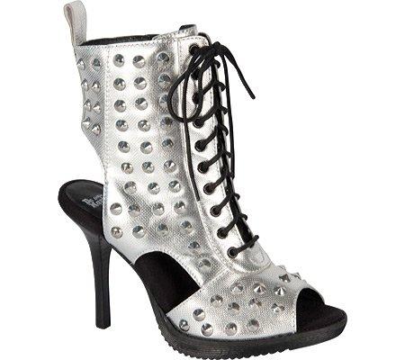 Dr.Martens R15027 YASMIN chaussures pour femmes Noir Argent - argent