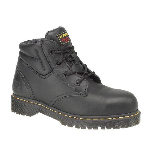Boots Safety Black Martens FS20Z Up Boot Dr Mens Boots Lace v6Snq