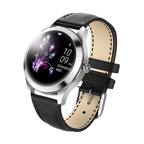 Hot Sale! Women Elegant Smart Watch, NDGA IP68 Waterproof Heart Rate Monitoring Bracelet Fitness for Android iOS Smart Watch (Black) by NDGDA Smart Watch (Image #1)