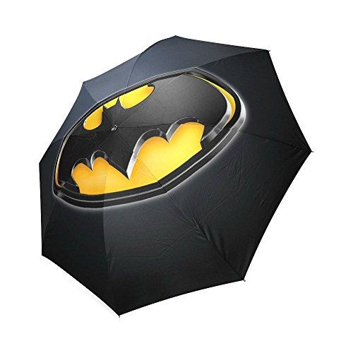 Custom Auto Foldable Umbrella windproof Travel Umbrella Batman (Kids Customs)