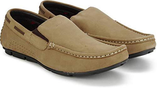 f389c19cb5 Lee Cooper LC2088 Camel Men Loafer Shoe (8 UK): Buy Online at Low ...