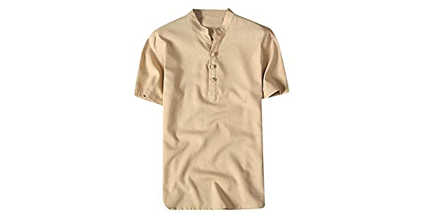 Amazon.com: Camisas de manga corta para hombre, camisas con ...