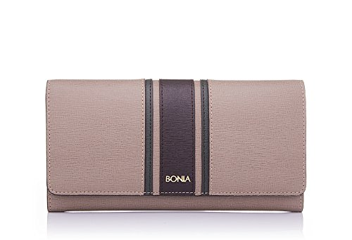 bonia-womens-sophia-leather-block-flap-purse-one-size-medium-brown