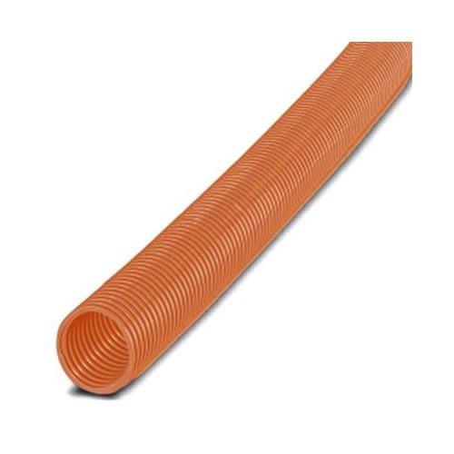 Panduit CLTS100F-C3 Solid Corrugated Loom Tubing, Orange (100-Foot)