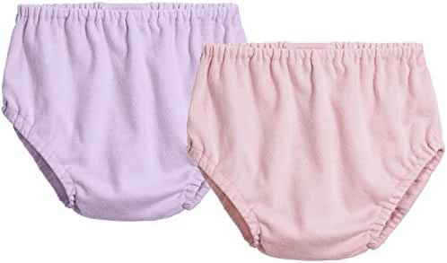 City Threads Girls' & Boys' Cotton Basic Diaper Covers Made in USA