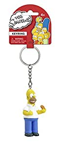 Fox The Simpsons Homer with Donut 3D PVC Key Ring