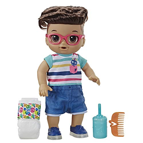 Baby Alive Step 'N Giggle Baby Brown Hair Boy Doll for sale  Delivered anywhere in USA