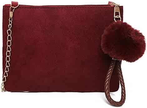 1238d29befda Shopping Wool or Suede - Reds - Handbags & Wallets - Women ...