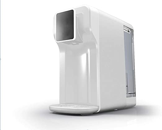ZCCGRASS Máquina de purificador ionizador de Agua Rica en hidrógeno de Escritorio de 5 litros PP + Filtro de carbón Activado Composite + RO Membrana inversa Osmosis ...