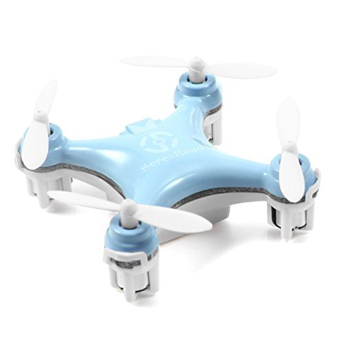 Cheerson CX-10 4CH 2.4GHz 6 Axis Gyro LED Rechargeable Mini Nano RC UFO Quadcopter - ()