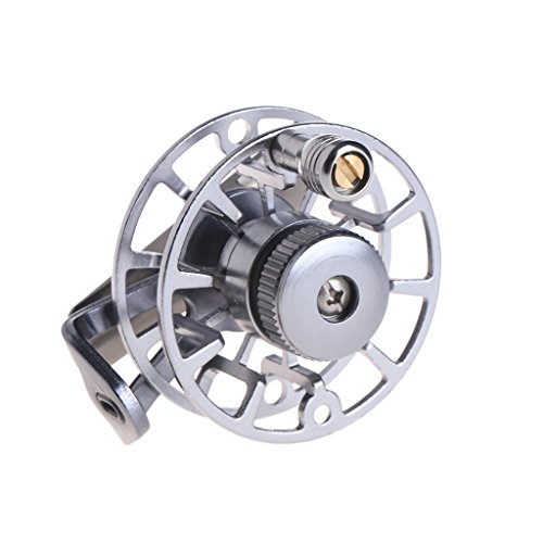 Ice Fishing Reel Full Metal Fly Spinning Line Raft Wheel Ice Reel Rock Skillful Fish Accessory For Outdoor Winter, Right/Left (Fish Wheel)