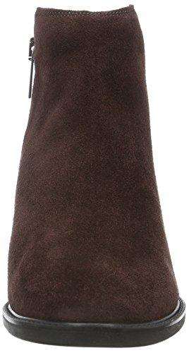 Marc O'Polo Mid Heel Bootie, Zapatillas de Estar por Casa para Mujer Rojo - Rot (Wine 385)