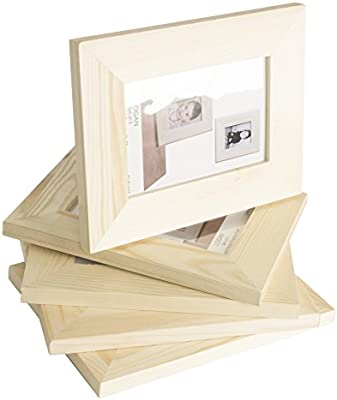 Amazoncom Solid Diy Unfinished Wood Picture Frame 4x6 Inches