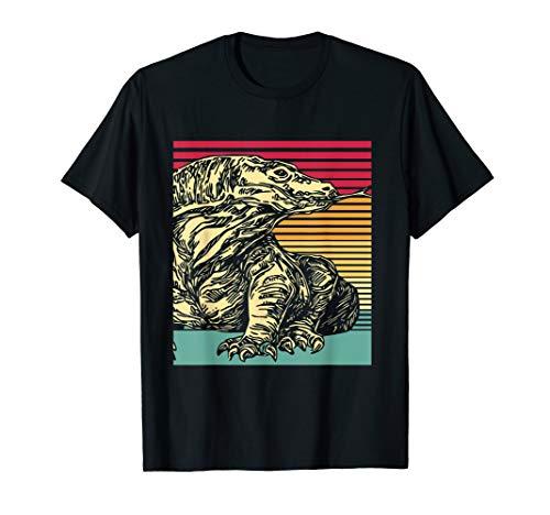 Komodo Dragon T-Shirt Vintage Style