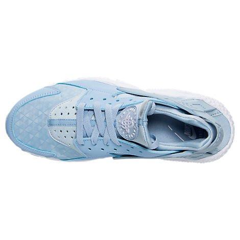 Nike Wmns Air Huarache Run Womens Fashion-Sneakers 634835-407_9.5 - Solar Red/Black