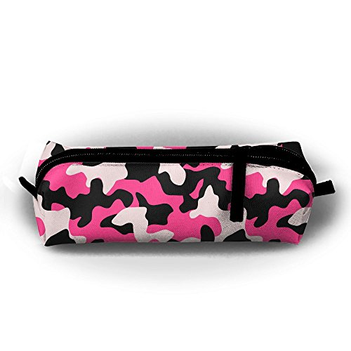 YesFutureIs Female Oxford Cloth Stationery Bag Camouflage Po