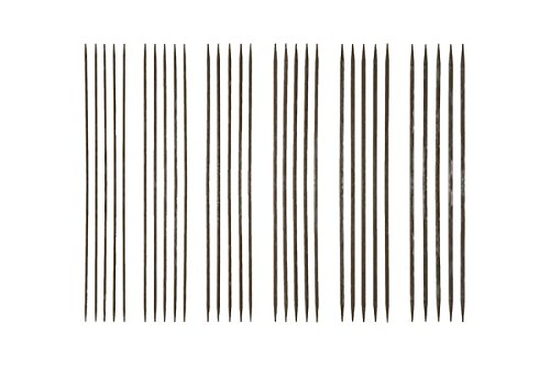 Double Pointed Needle Sets (6'', Nickel Plated)