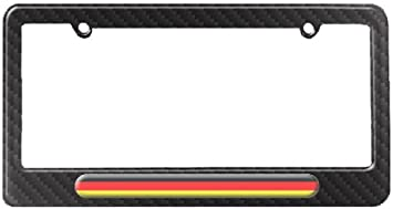 German Flag Germany License Plate Tag Frame