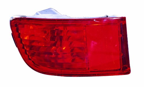 Rear Reflector - Depo 212-2924R-F Toyota 4Runner Rear Passenger Side Replacement Reflector (NSF Certified)