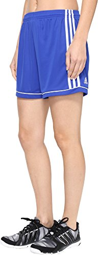 Adidas Women's Soccer Squadra 17 Shorts - XX-Small - Bold Blue/White -