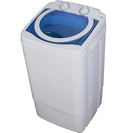 Syntrox Germany - a 7 kg lavadora con centrifugado Blanco/Azul ...
