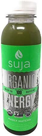 Suja, Juice Tea Energy Madly Matcha, 12 Fl Oz