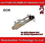 Computer Cables Yoton 2-Port USB 3.0 Low Profile Size Baffle for eSATA Adapter Card SATA 3.0 Expansion Card Rear Bracket 8CM - (Cable Length: 50PCS)